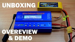 Video SKYRC iMAX B6 LiPro Balance Charger - Unboxing, Overview & Demo MP3, 3GP, MP4, WEBM, AVI, FLV September 2019