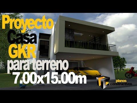 Search result youtube video casas modernas minimalistas for Casa moderna 7x15