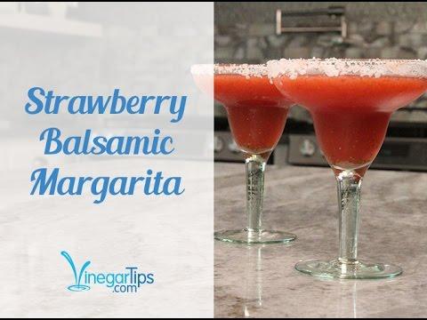 Strawberry Balsamic Margarita