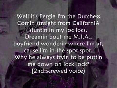 Nelly ft Fergie - Party People +lyrics