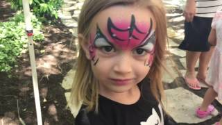 There is an awesome little place by our house that has shops and sorts of fun things to do. The girls love it! We did face painting, shopping, and pony rides. Hope you enjoy!