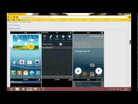 Tutorial SGS3 V2 Ultimate ROM Estilo Samsung SIII para Galaxy Ace s5830i Custom ROM (Nivel Difícil)