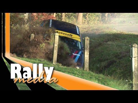 Euregio Rally 2014 - Best of by Rallymedia - BMW M3 crash!