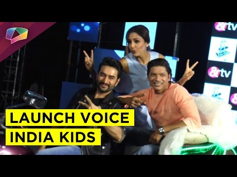 Launch of The Voice India Kids