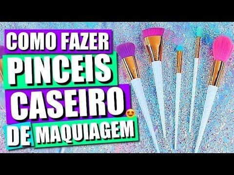 DIY: COMO FAZER PINCEIS CASEIRO DE MAQUIAGEM