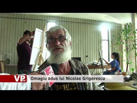 Omagiu adus lui Nicolae Grigorescu