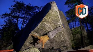 When Bouldering Gets WEIRD...Sideways Toe-Hook  | Climbing Daily Ep.1521 by EpicTV Climbing Daily