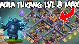Video Bocoran Tampilan Aula Tukang Level 8 / BH 8 Untuk COC Dunia Malam - Clash Of Clans Indonesia MP3, 3GP, MP4, WEBM, AVI, FLV Oktober 2017
