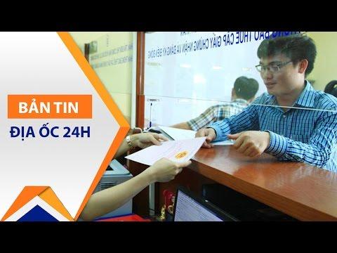 Thủ tục làm sổ đỏ nhà đất bán trao tay | VTC1 - Thời lượng: 81 giây.