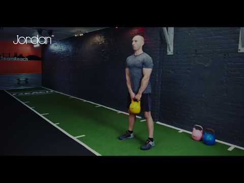 Top 3 Kettlebell exercises - Jordan Fitness workout series #5