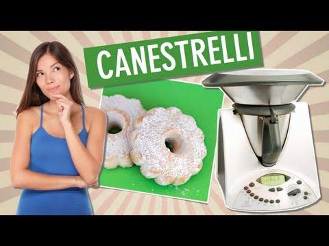 video ricetta: bimby - i canestrelli, biscotti tradizionali italiani
