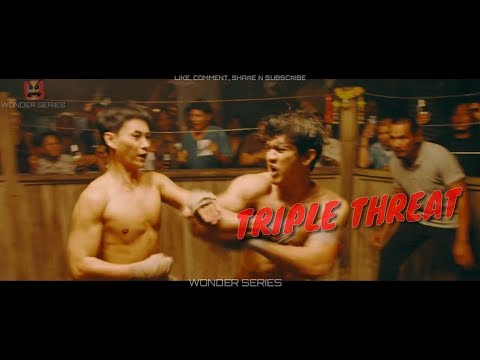 Iko Uwais VS Tiger Hu Chen  Fight Scene-TRIPLE THREAT  (2019)
