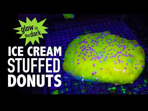 DIY GLOW IN THE DARK DONUTS (GLONUTS)