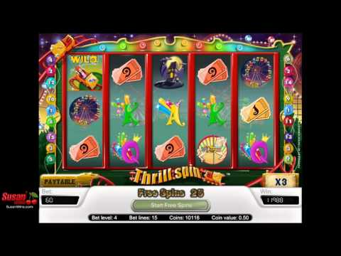 Awesome £7782 Win - Free Games Bonus - Thrill Spin Online Slots Review