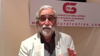 Vinceç Villator ens comenta el curs d'autobiogràfia de Cetres