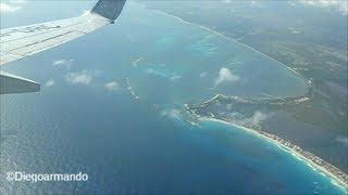 Video Impresionante aproximación y aterrizaje en Cancun México - Boeing 737-800 Aeromexico. MP3, 3GP, MP4, WEBM, AVI, FLV Agustus 2018