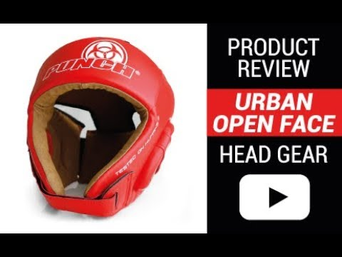 Urban Open Face Headgear - Product Review | Punch Equipment®