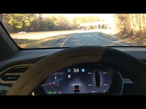 Tesla's Autopilot vs 'Curve of Death'