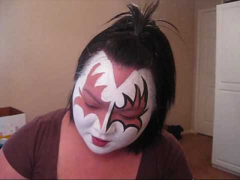 How To Apply KISS Gene Simmons Demon Makeup for Halloween