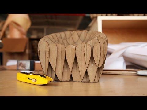MADE@PRATT: A 3D-Woven Chair by Student Justin Crocker