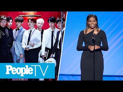 BTS Announced As 'Next Generation Leaders,' Michelle Obama On Day of the Girl | PeopleTV