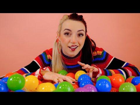 ASMR | Cute Clown Friend Pom-Pom's Hide & Seek List