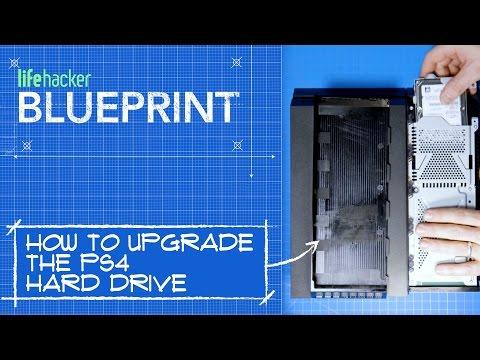 blueprint clips hard-drive hardware lifehacker-video playstation-4 videos