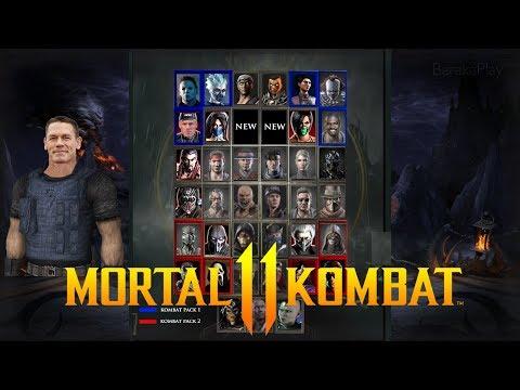 MORTAL KOMBAT 11 - KLASSIC CHARACTER ROSTER PREDICTION (39 Characters Inc. Kombat Pack DLC's)