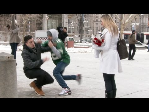 V DAY ROBBERY PROPOSAL PRANK...!!