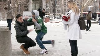 Valentine's Day Proposal Robbery