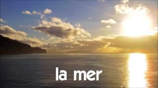 J'apprends à lire # 1 time lapse # la mer