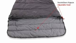 Утепленный спальник одеяло. High Peak Conon 7