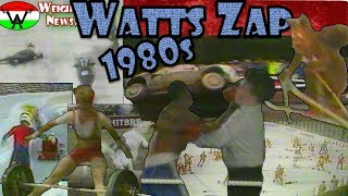 Watts Zap 1980s   Best Funny Sport Compilation of 1980s