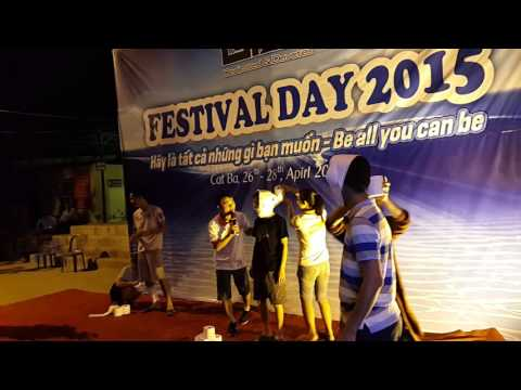 Teambuilding and Gala dinner in Cat Ba Beach organized by Travelogy Vietnam