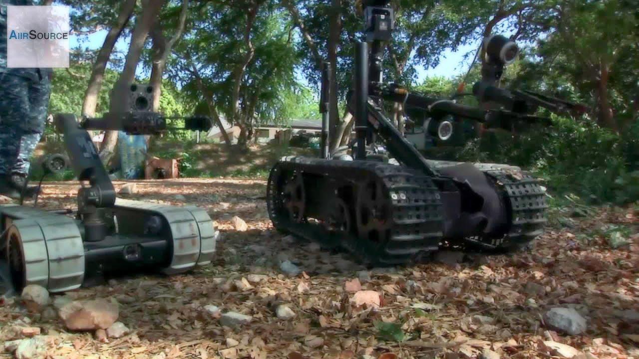 TALON & PackBot – Military Bomb Disposal Robots Demo