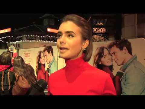 Love, Rosie - Lily Collins, Tamsin Egerton,  Cecilia Ahern - World Premiere interviews