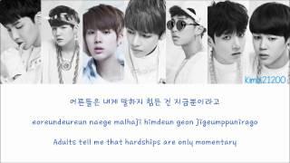 Video BTS (방탄소년단) - N.O [Hangul/Romanization/English] Color & Picture Coded HD MP3, 3GP, MP4, WEBM, AVI, FLV Juni 2018