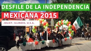 Shorewood (IL) United States  City new picture : Desfile de Independencia Mexicana 2015 - Joliet, IL