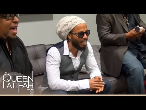 Web Exclusive: Ziggy Marley Performs Acoustic Backstage at The Queen Latifah Show
