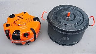 Folding Base Camp Stove