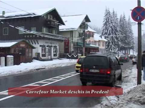 (P) Carrefour Market deschis în Predeal