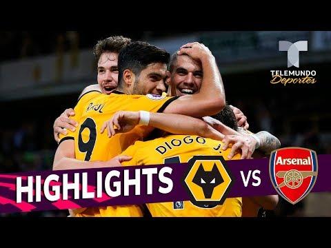 Wolverhampton vs. Arsenal: 3-1 Goals & Highlights | Premier League | Telemundo Deportes