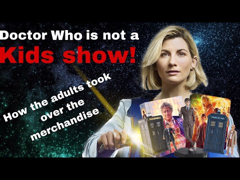 How Doctor Who Is Marketed To Adults