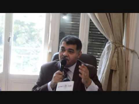 سيد عبدالغنى اثناء اجتماع اتحاد المحامين العرب 26 يوليو