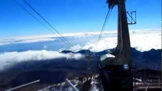 Pico del Teide - Teneriffa - Seilbahn - PowerShot SX130 IS Miniature Effect ( Timelapse )