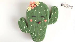Cute Kawaii Cactus Cake