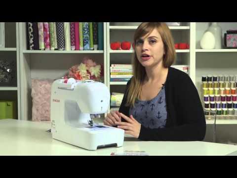 SINGER® PROFESSIONAL™ 9100 Sewing Machine - Threading