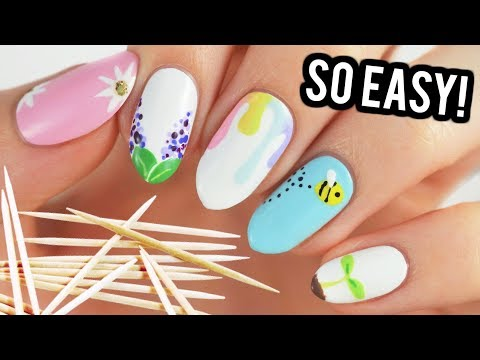 Video Nail Art For Beginners Using A Toothpick Spring Edition Mp3