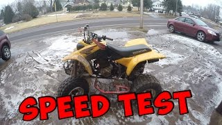 6. Honda 400EX Speed Test