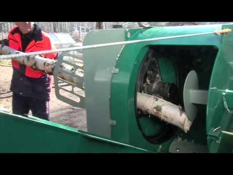 Mottimaster L - traktorikäyttöinen klapikone